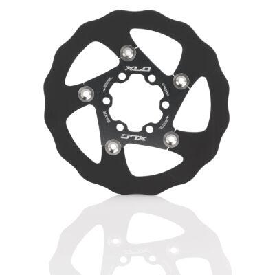 Féktárcsa XLC fekete-titán140/1,8 mm BR-X76