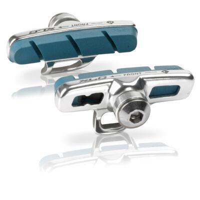 Fékbetét oú-i Campagnolo 4db 50 mm ezüst/kék karbon felnihez BS-R07